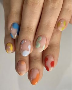 Summer Acrylic Nails, Best Acrylic Nails, Summer Nails, Almond Acrylic Nails, Aycrlic Nails, Swag Nails, Grunge Nails, Bling Nails, Coffin Nails