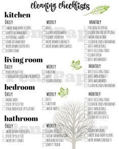 Cleaning Checklist // Cleaning Schedule // Home Management // Cleaning Blinds, Oven Cleaning, Toilet Cleaning, Cleaning Hacks, Diy Hacks, Cleaning Supplies, Cleaning Ceilings, Cleaning Cart, Norwex Cleaning