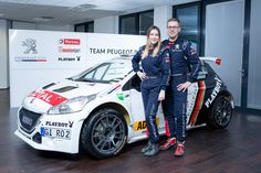 Peugeot Deutschland präsentiert DRM-Team – Christian Riedemann/Lara Vanneste starten mit Peugeot 208 T16