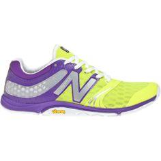 3cf441134625 New Balance Women s 20v3 B Training Shoes - Yellow Purple