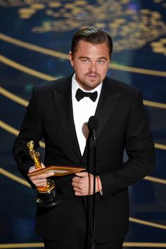 #Oscars2016! Leonardo DiCaprio Finally Wins an Oscar After Six Nominations | See Full List of Winners