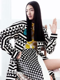 'Zen Mantra' by Daniel Jackson for Vogue China March 2014 | The Fashionography