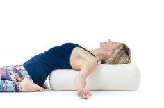 Yogarolle RESTORATIVE Ø24 cm   Yoga Bolster   Lotuscrafts