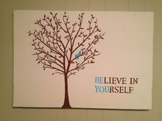 Do it yourself canvas artwork.