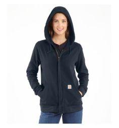 Carhartt - Product - Women's Flame-Resistant Zip-Front Hooded Sweatshirt