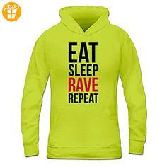 Eat Sleep Rave Repeat Frauen Kapuzenpullover by Shirtcity (*Partner-Link)