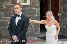 That First Look - Kim & Adam - Craig Paulson Photography 2013 - NYC Wedding Photographer #love #cute