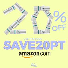 """Get 20% off our Matrixyl Moisturizer right now with the code """"SAVE20PT""""! http://amzn.to/2e9VaxS"""