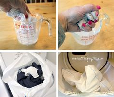 How to make your own Dryel cleaning cloths!