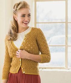 Sweater knitting pattern - knitting patterns - Ravelry: Rheya Cardigan pattern by Maria Leigh Crochet Cardigan Pattern, Lace Cardigan, Cardigan Sweaters For Women, Knitting Patterns, Knit Crochet, Cardigans, Knitting Daily, Easy Knitting, Vintage Knitting