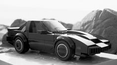 Lego Knight Rider car KITT
