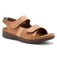 Drew Shoes Women's Dora Sandals - Cork Nubuck  $123.96 & free ship