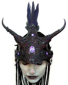 Headdress by V. Cantillon