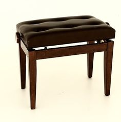 1To1Music Prima Adjustable Piano Stool / Bench - Luxurious Seat + Solid Wood - Fs201Pw - Walnut by 1To1Music. $160.00. Good quality Polished Walnut adjustable piano stool. Strong, sturdy adjustable mechanism with solid wood construction. Ideal for professional musicians and piano teachers - suitable for all piano types - Strong, sturdy adjustable mechanism. - Solid wood construction. - Comfortable thick-padded seat.