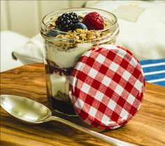 Yoghurt, Granola and Berry Breakfast Pots Recipe | Breakfast Recipes | Kitchen Goddess