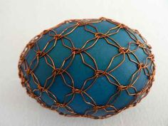 Wire Wrapped Jewelry, Wire Jewelry, Egg Designs, Egg Art, Spring Has Sprung, Wire Crafts, Egg Decorating, Wire Art, Stone Art
