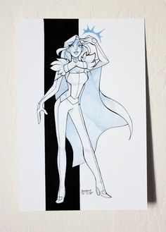 Emma Frost by reb-chan (so awesome)