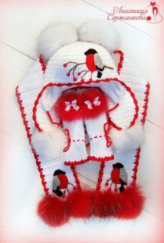 """Комплект """"Снегири"""" от пользователя «Lastochka1988» на Babyblog.ru"""