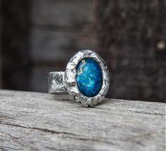 Búrlivý oceán by gabi111 - SAShE.sk - Handmade Prstene