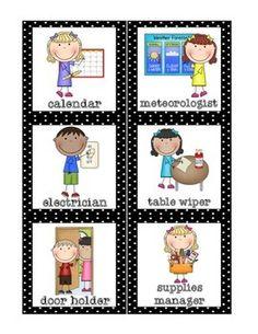 Classroom Helpers Set {FREE}                                                                                                                                                                                 More