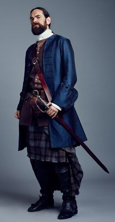Looking for peace? Look for a river. — surana17:  Murtagh Fitzgibbons Fraser Outlander...