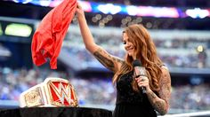 WWE Hall of Famer and legendary Women's Champion Lita put the rumors to rest at WrestleMania 32 Kickoff with a historic announcement for the WWE women's division. Shane Mcmahon, Stephanie Mcmahon, Wwe Women's Championship, Wwe Lita, Wrestlemania 32, Eddie Guerrero, Wwe Women's Division, Wwe Womens, Women's Wrestling