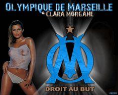 Fonds+d'écran+Sports+-+Loisirs+>+Fonds+d'écran+Football+-+OM+Olympique+de+Marseille+et+Clara+Morgane+par+frizzoti+-+Hebus.com