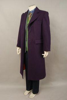 Batman Dark Knight Joker Purple Wool Trench Coat Costume: Amazon.co.uk: Toys & Games