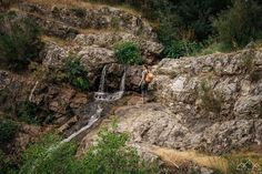 Trilho das Cascatas - Viagens à Solta Places, Pedestrian, Waterfalls, Drop, Walking, Railings, Spain, Lugares