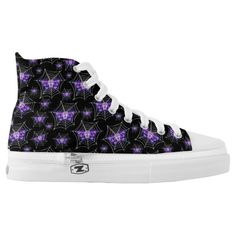 Purchase a wonderful pair of Skull sneakers & athletic shoes from Zazzle. Interchangeable covers allow you to have different shoes everyday of the week! Skull Shoes, Skull Print, Trendy Shoes, Designer Shoes, Converse Chuck Taylor, High Tops, Athletic Shoes, High Top Sneakers, Printed Shoes