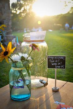 mason jars, Lesbian wedding, Jason Kaczorowski Photography