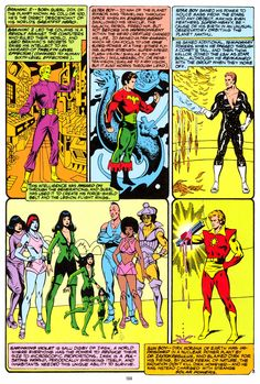 Origins of the Legion of Super-Heroes