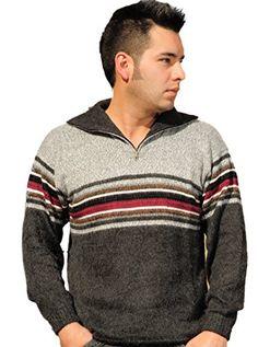 Gamboa Striped Alpaca Men's Sweater - http://www.darrenblogs.com/2017/01/gamboa-striped-alpaca-mens-sweater/