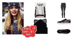 """""""Someone like you"""" by jessica-timotheo on Polyvore featuring moda, Silver Spoon Attire, Vans e Topshop"""