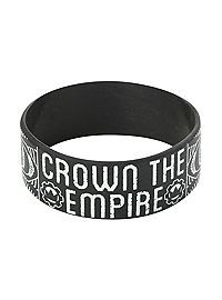 HOTTOPIC.COM - Crown The Empire Sketch Rubber Bracelet