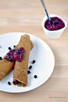 Whole-Wheat Vegan Crepes | WIN-WINFOOD.com