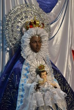 Our Lady of Regla (patron saint of sailors and of Havana Port) - the Catholic Saint used to represent Yemaya.