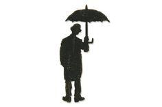 Sizzix - Tim Holtz - Bigz Die - Alterations Collection - Die Cutting Template - Umbrella Man at Scrapbook.com $18.59
