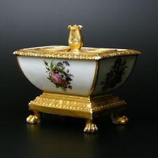 XIXe Encrier en porcelaine de paris 19eme (Sèvres Locré) 19th century porcelain