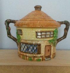 Beswick cottage ware 2 handled lidded pot