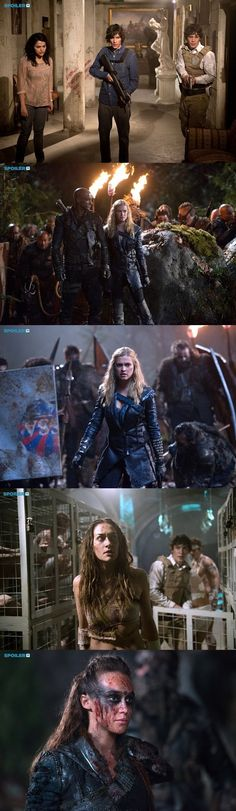 Promotional Photos || The 100 season 2 episode 15 - Blood must have blood pt 1 || Maya, Jasper Jordan, Bellamy Blake, Lincoln, Clarke Griffin, Echo, Lexa || Season Final