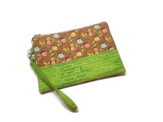 A personal favorite from my Etsy shop https://www.etsy.com/listing/253397894/cutest-owls-on-a-tree-wristlet-wallet