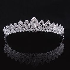 New Wedding Hair Jewelry Tiara Bridal Hair Accessories Hair Accessories Crown Wedding Free Shipping