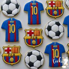 Futbol Barça Galletas De Fútbol 86e6c5b525c