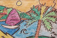 Michal Tejgi - pastelka / 29 x 21 cm / 700 Kč Online Galerie, Rooster, The Originals, Gallery, Painting, Animals, Art, Animales, Art Background