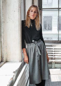 Jupe Celina - 7 days in New YORK #sezane #bonjournewyork #rendezvousle17septembre