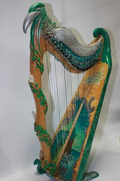 Fanciful harp on ebay