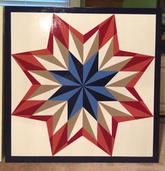 Dads new barn quilt