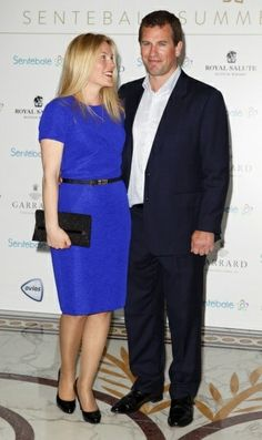 Peter and Autumn Phillips attend Prince Harry's Santebale Summer Party event May 7, 2014