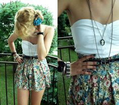 cute outfit #floral